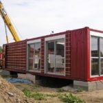 Морской контейнер как идея для быстрого строительства